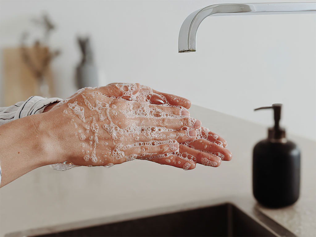 Handwashing to fight coronavirus pandemic