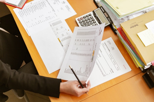 A Minnesota Homeowner Reviewing Tax Documents